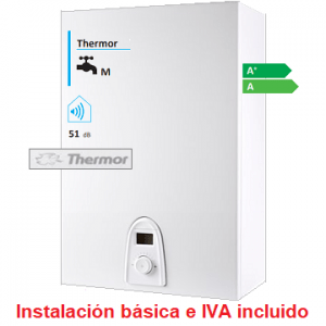 Calentador Thermor Top Sealed iD Serie Ellite